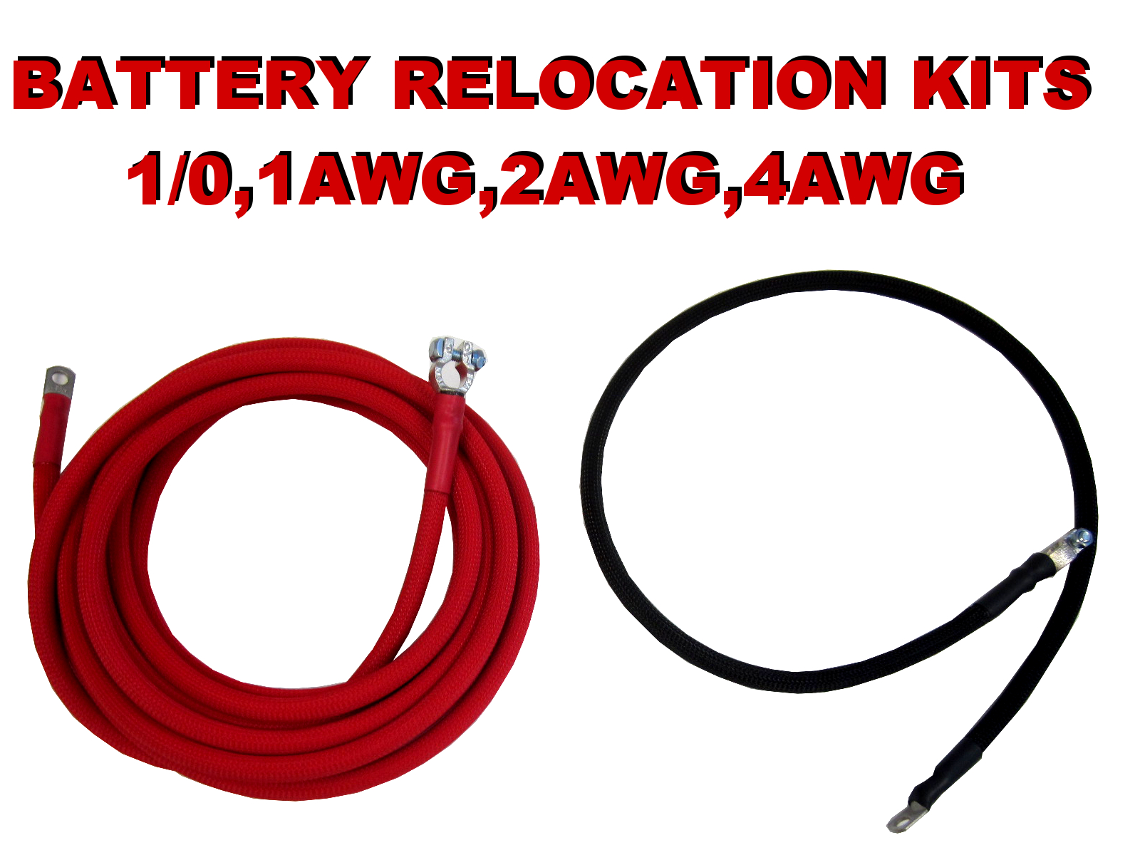 RELOCATION BATTERY CABLES