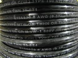 Thhn 8 Awg Black 19xbc Bare Copper 100