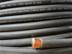2 0 Cci Royal Excelene Welding Cable Black